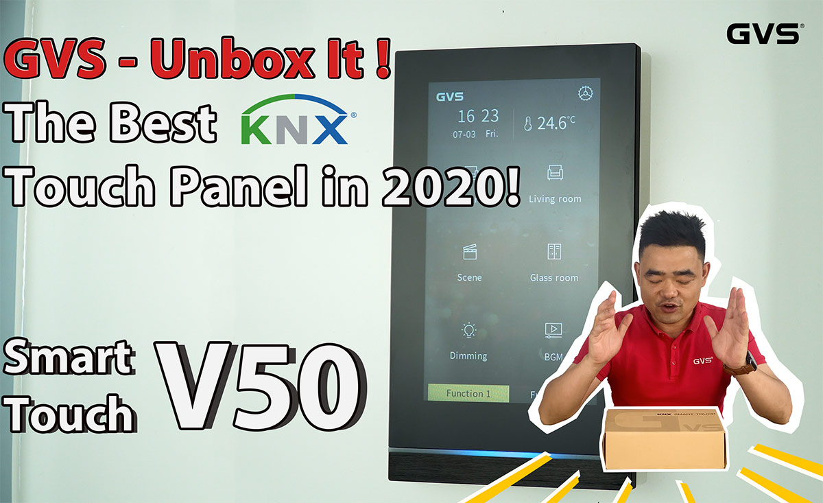 Unbox It! KNX Touch Panel V50