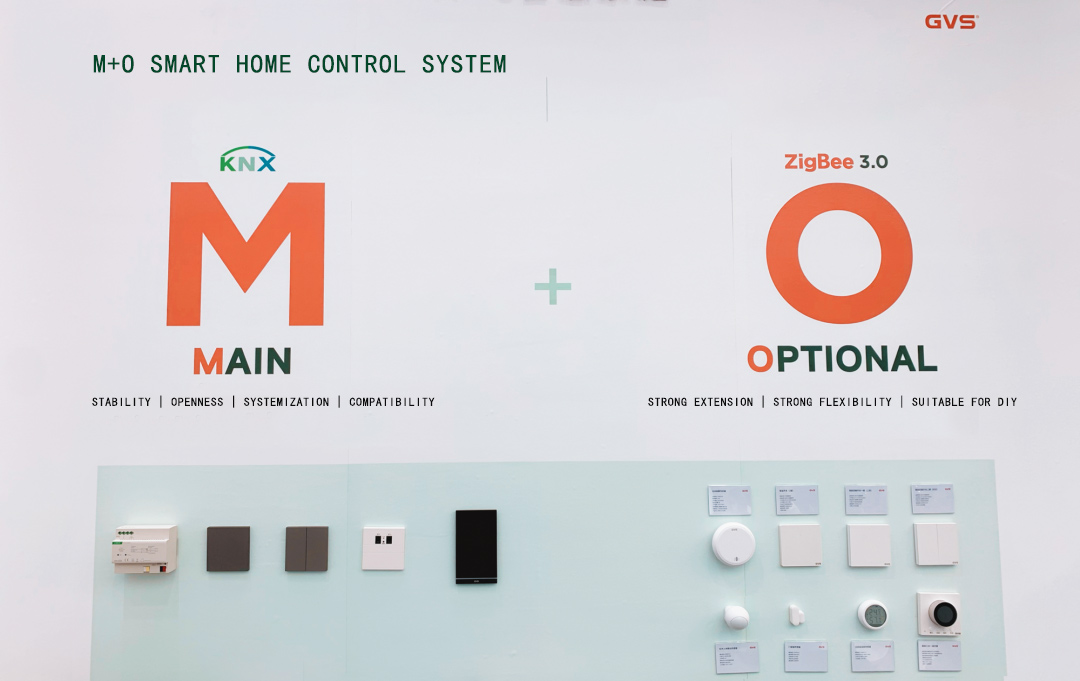 Latest GVS Solution for Smart Home: A Hybrid System of KNX & Zigbee 3.0